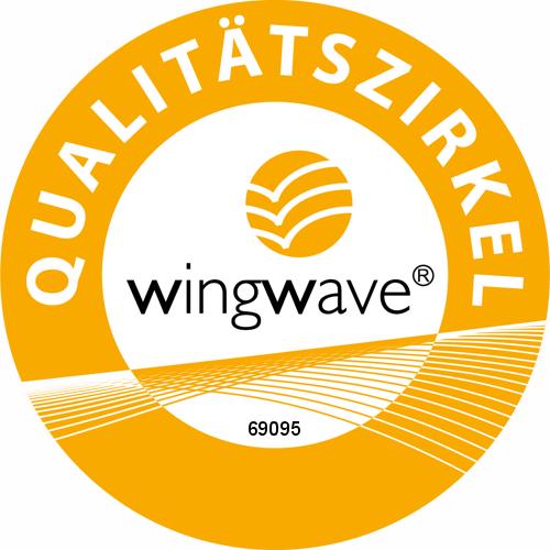 Logo Wingwave Qualitätszirkel